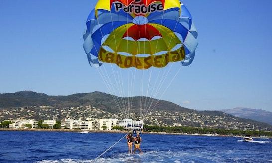 Enjoy Parasailing In Mandelieu-la-napoule, France
