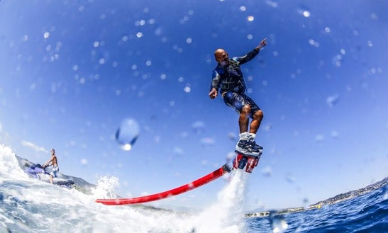 Enjoy Flyboarding In Mandelieu-la-napoule, France