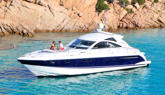Charter 53' Fairline 52 Power Mega Yacht In Olbia, Italy
