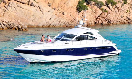 Charter 53' Fairline 52 Motor Yacht In Olbia, Italy