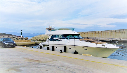 Prestige 42, Motor Yacht Rental In Pollença
