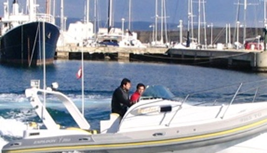 Rent 23' Espandon Rigid Inflatable Boat In Draguignan, France