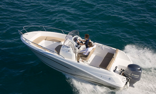 Rent 21' Cap Camrat Center Console In Talmont-saint-hilaire, France