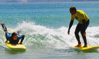 Enjoy Surfing Lessons & Trips in Faro, Portugal
