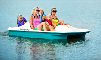 Pedal Boat Rentals for 4 Person in Jelgava, Latvia