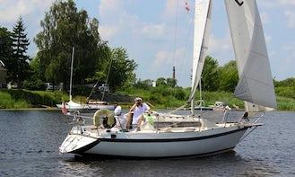 """Charter """"Helena"""" Sailboat for 12 People in Jelgava, Latvia"""