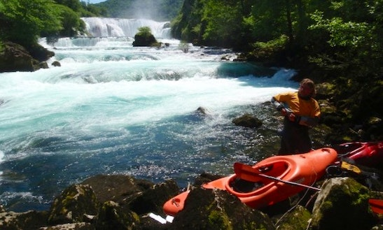Enjoy Single Kayak Rentals In Braslas, Latvia