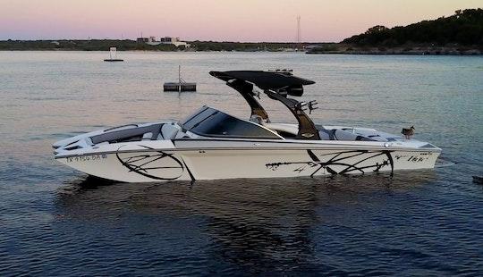 24' Tige Rz4 Bowrider Rental In Austin, Texas