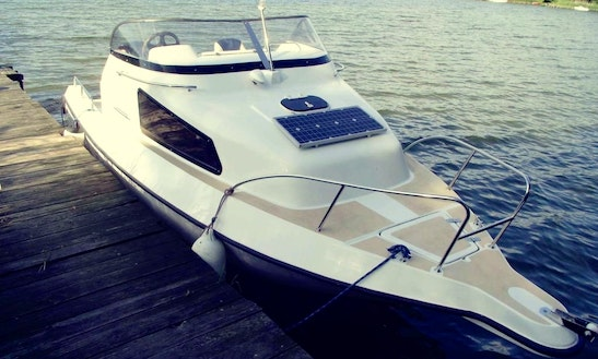 Rent 21' Galia Motor Yacht In Kolonia Rybacka, Poland