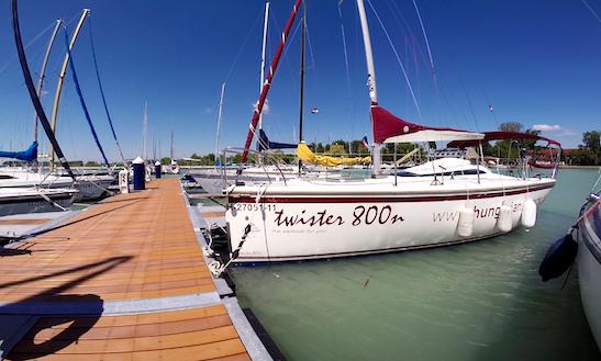 Charter 26' Twister 800n Cruising Monohull In Alsóörs, Hungary