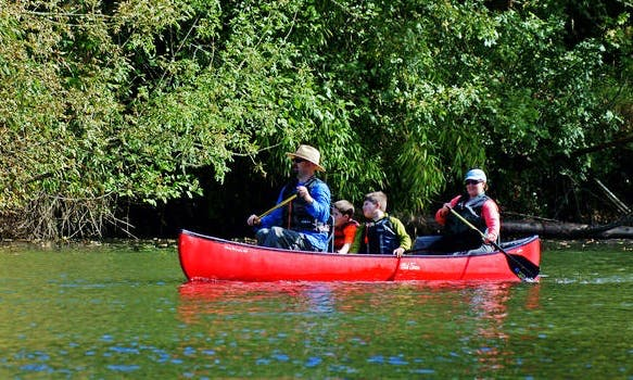 Rent a Canoe in Kołbaskowo, Poland