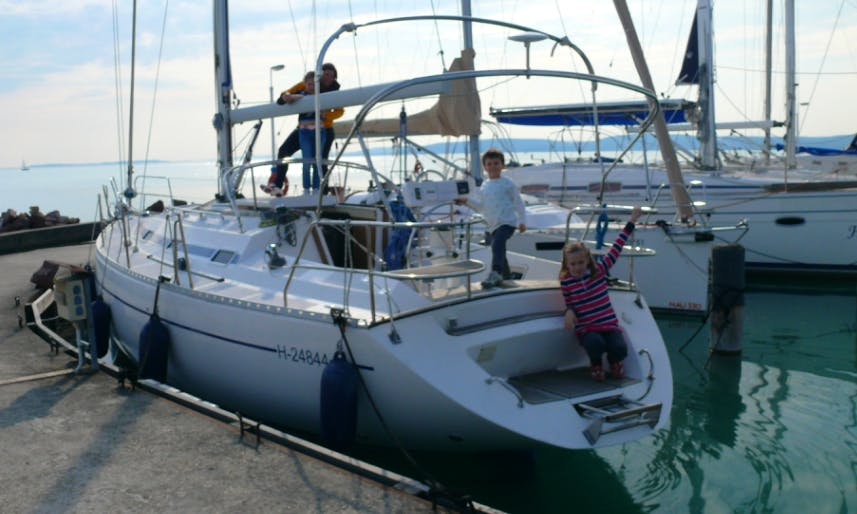 Charter 37' Grand Soleil Cruising Monohull in Balatonvilágos, Hungary