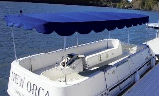 16' Electric Boat Rental In Upper Lake, California