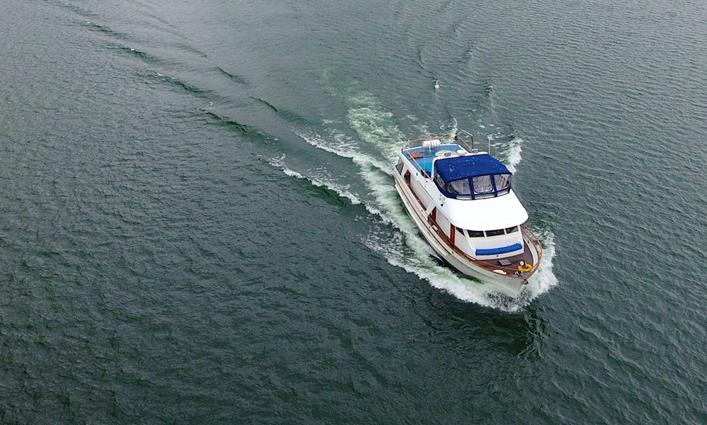 65′ Motor Yacht Charter in Juneau, Alaska