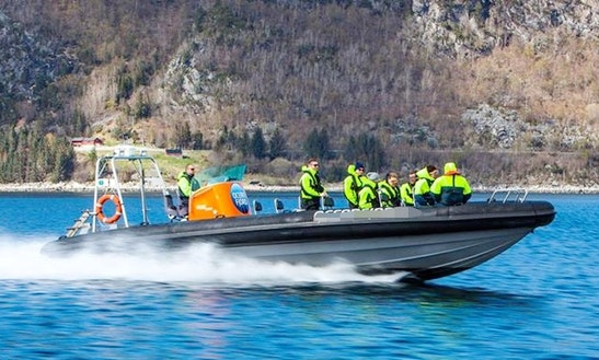 Charter A Rigid Inflatable Boat In Ålesund, Norway