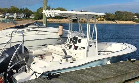 Enjoy The Cape Cod Bay On 2015 Tidewater 210 Lxf Center Console Boat