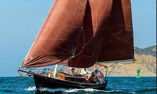 """Private Cruises on 1976 """"Lively"""" Sailing Schooner in Newport Beach"""