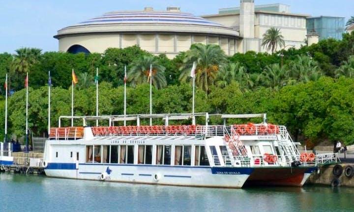 """Rent the """"Luna de Sevilla"""" Passenger Boat in Gelves,"""