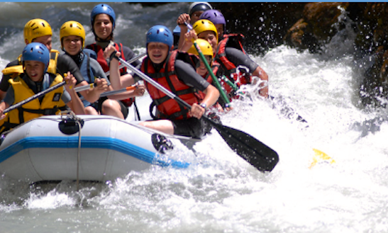Enjoy Rafting In La Colle-sur-loup, France
