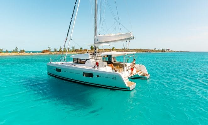 Charter 42' Lagoon Cruising Catamaran in Algarve, Portugal