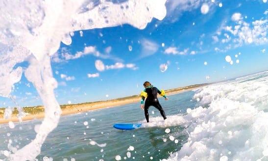 Enjoy Surf Lessons In Lisbon, Portugal