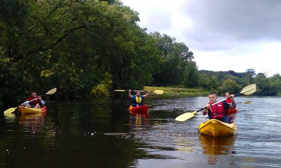 Enjoy Kayak Rentals in Villierstown, Ireland