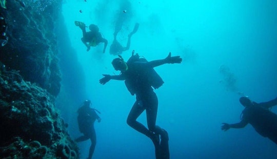 Enjoy Diving In Ohrid, Macedonia