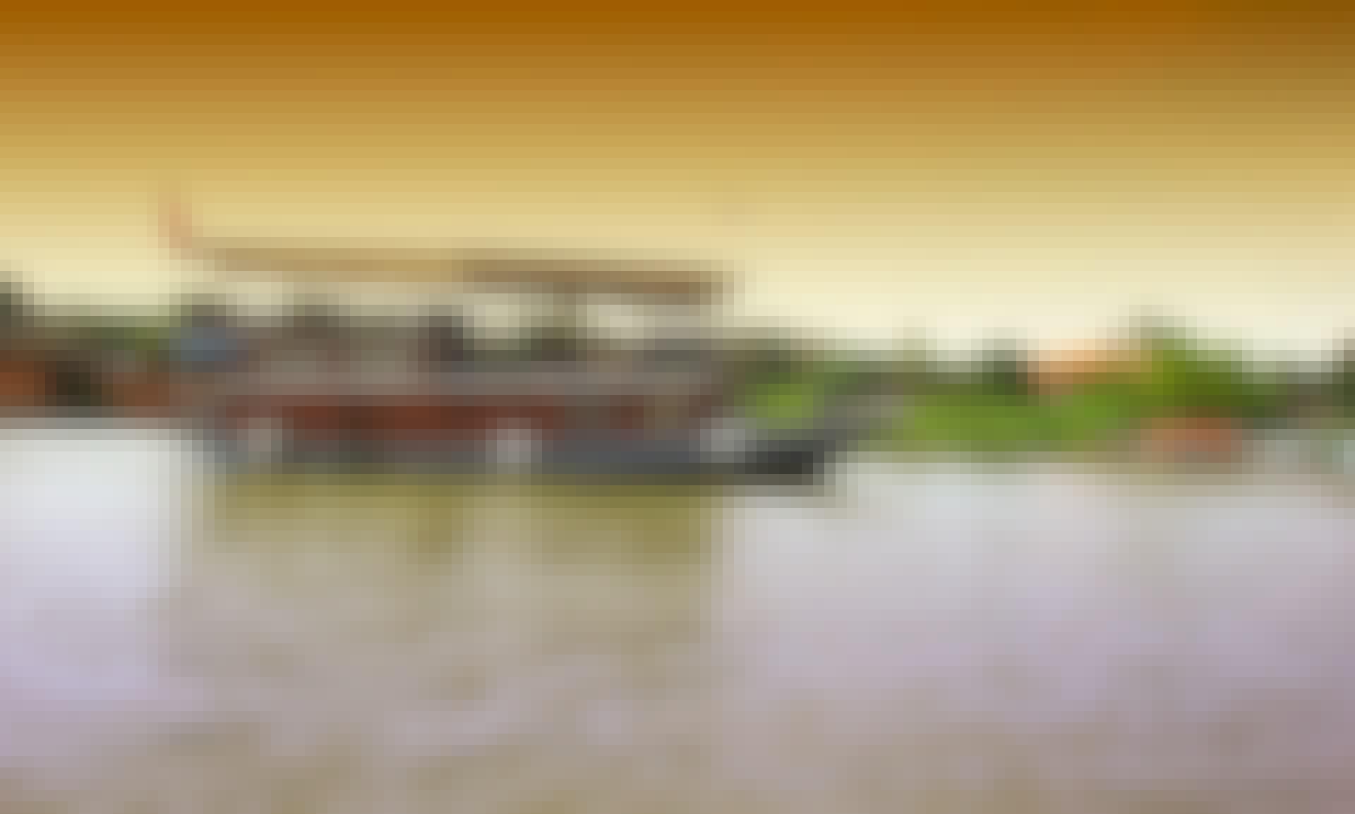 Houseboat Charter in Phnom Penh, Cambodia