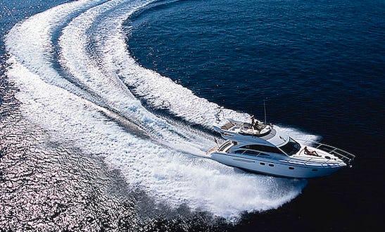 Charter 42' Princess Motor Yacht In Koh Keaw, Phuket