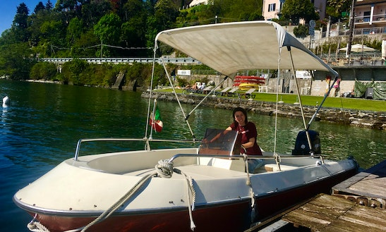 Center Console For Rent In Cannero Riviera