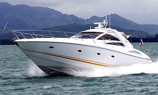 Charter 53' Sunseeker Portofino Power Mega Yacht In Koh Keaw, Phuket