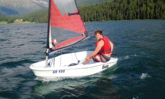Sailing Dinghy For Hourly Rent In St. Moritz, Switzerland