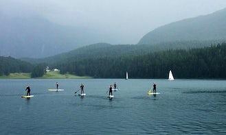 Enjoy Stand Up Paddleboard Rentals in St. Moritz, Switzerland