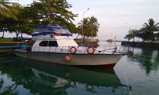 Charter 52' Harvestama Motor Yacht In Carita, Indonesia