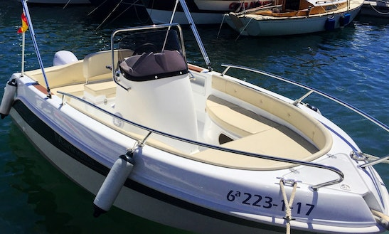 5 Person Center Console Ready To Rent In Altea, Spain