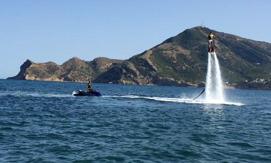 Flyboarding In Altea