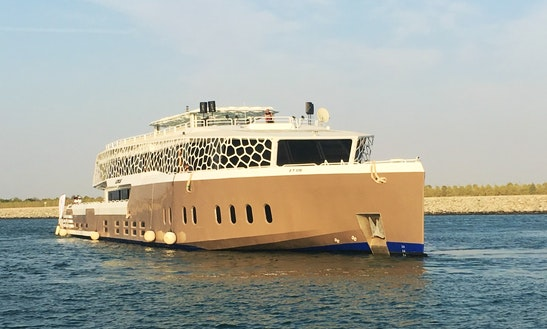 Charter 220' Corporate Power Mega Yacht In Dubai, Uae