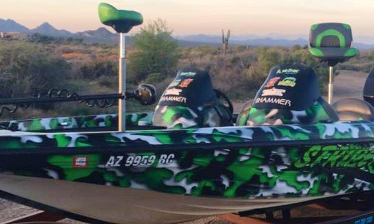 Fishing Trip Guide Service on Lake Pleasant, Arizona