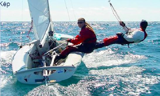 Rent 15' Sailing Dinghy In Balatonföldvár, Hungary