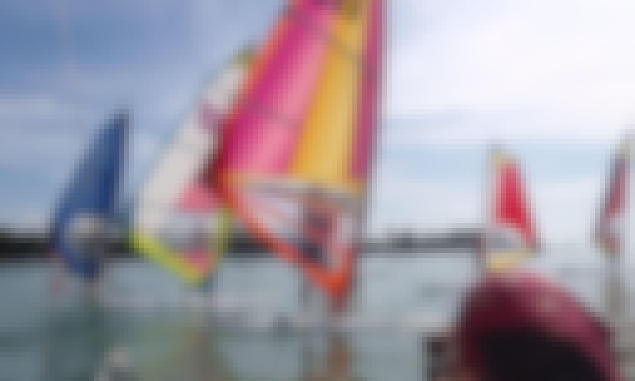 Enjoy Windsurfing in Balatonföldvár, Hungary