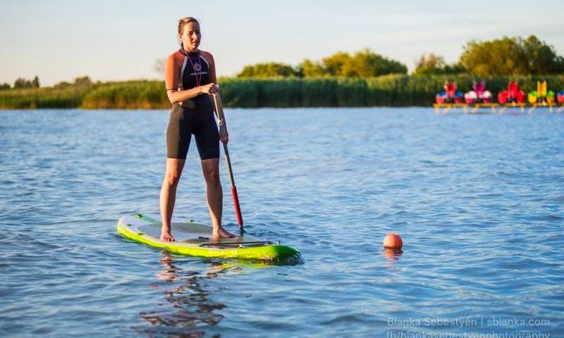 Enjoy Stand Up Paddleboarding in Balatonföldvár, Hungary