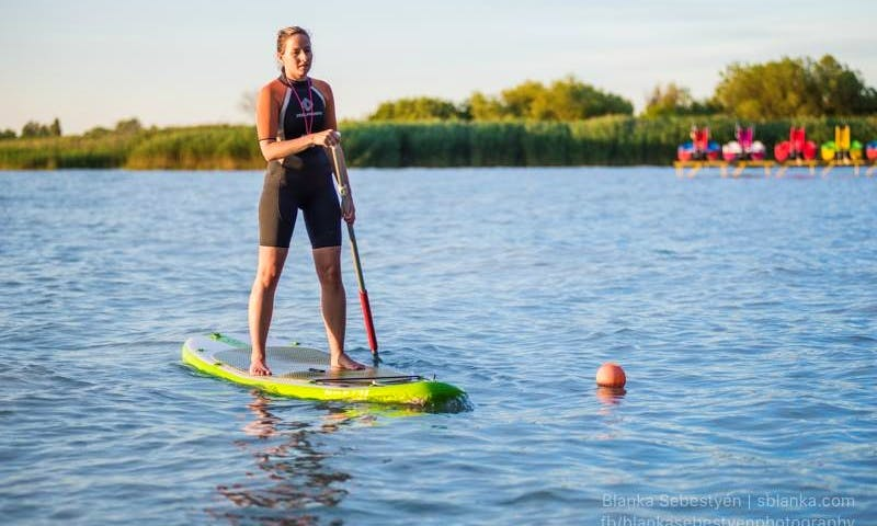 Enjoy Stand Up Paddleboarding in Balatonföldvár, Hungary