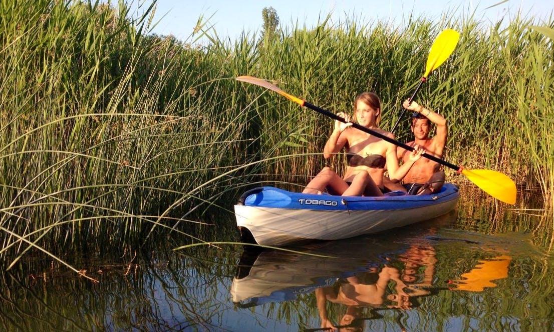 Rent 13' BIC Tobago Kayak in Balatonföldvár, Hungary