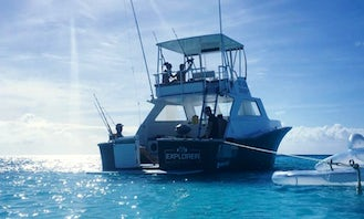 Come for fun fishing adventure in Willemstad, Curacao