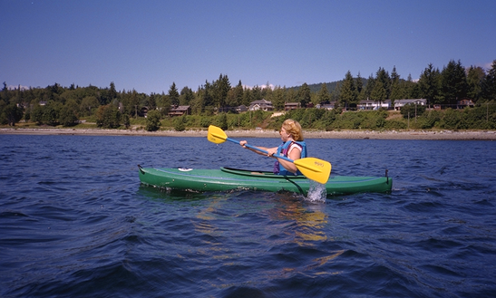 Recreational Kayak In Powell River