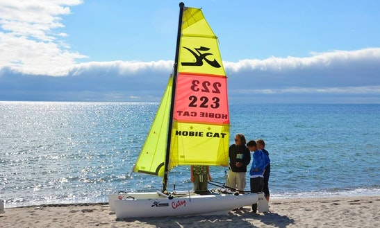 10' Beach Catamaran Rental In Großenbrode, Germany