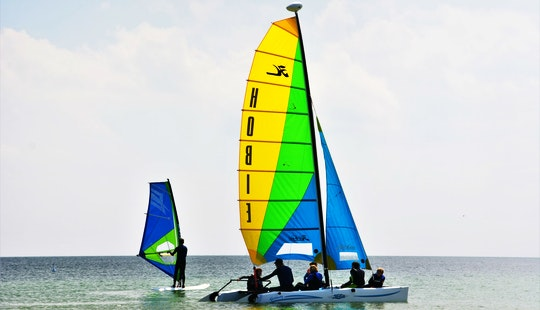 Enjoy A Smooth Ride In Großenbrode, Germany With This Hobie Cat