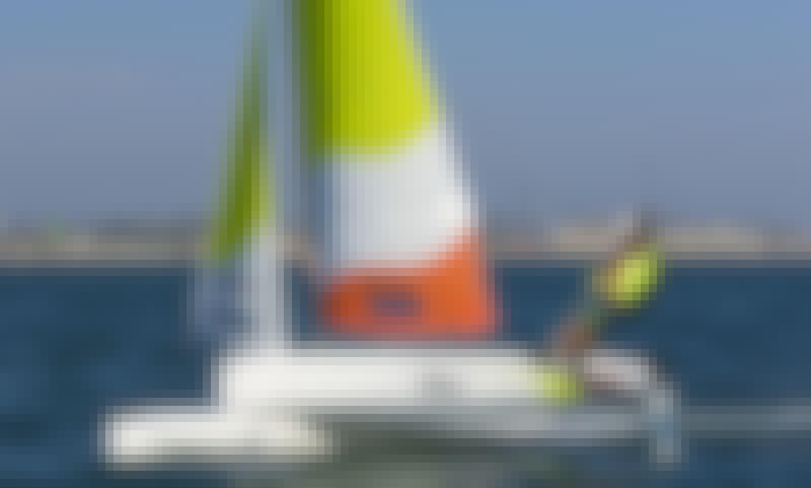 13' Beach Catamaran Rental in Großenbrode, Germany