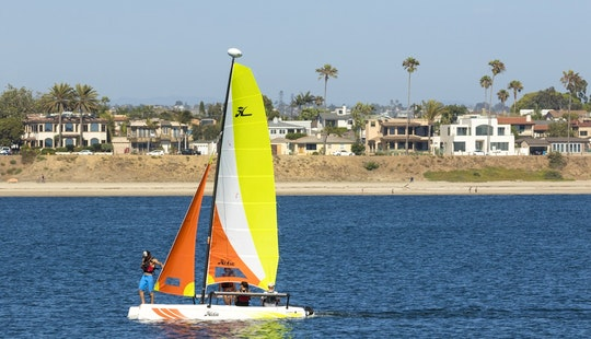Explore The Bay Of Großenbrode, Germany In Style! - Rent This Hobie Cat