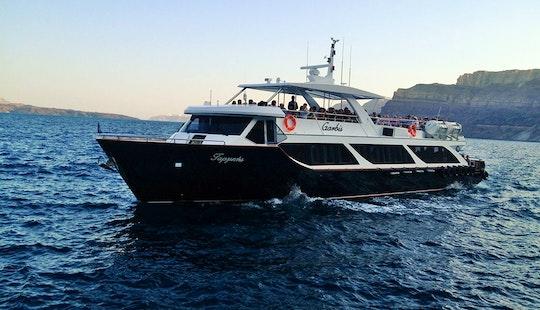 85' Passenger Boat Tours In Emporio, Greece